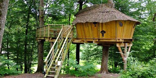 h bergements insolites des vacances hors normes avant de choisir son camping. Black Bedroom Furniture Sets. Home Design Ideas