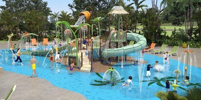 Zum Feriendorf Les Mouettes De Carantec (Departement Finistère) Gehört Der  AquaGarden, Ein 1.500 M² Großer XXL Wasserspielbereich. Familien Und  Kindern Von ...