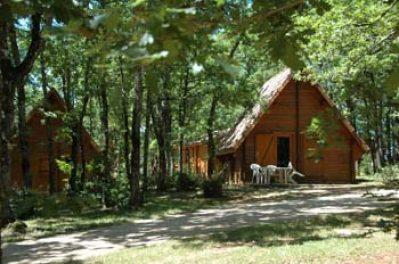 LA TRUFFIERE-Le camping LA TRUFFIERE, le Lot-SAINT CIRQ LAPOPIE