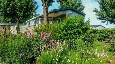 AMETZA-Les mobil-homes du camping AMETZA-HENDAYE