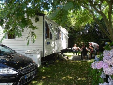 CAMPING IBARRON - Les mobil-homes du camping CAMPING IBARRON - SAINT PEE SUR NIVELLE