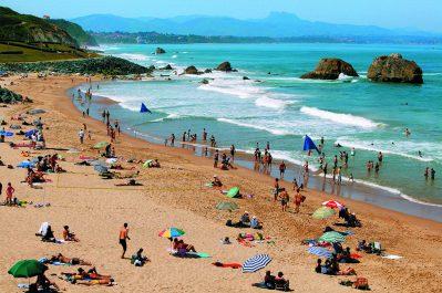 CAMPING IBARRON-La plage-SAINT PEE SUR NIVELLE