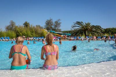 LES MARSOUINS-Le parc aquatique du camping LES MARSOUINS-ARGELES SUR MER