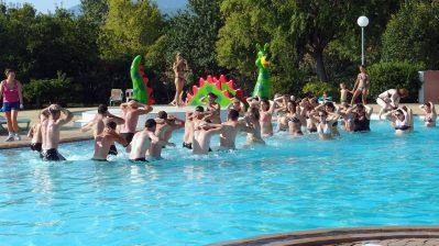 LES MARSOUINS-Jeux aquatiques au camping LES MARSOUINS, das Departement Pyrénées-Orientales-ARGELES SUR MER