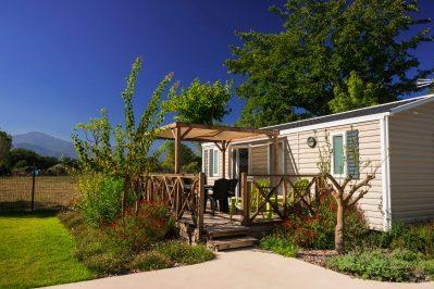 LE DAUPHIN-Hébergements haut de gamme du camping LE DAUPHIN-ARGELES SUR MER