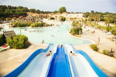 LE DAUPHIN-Jeux aquatiques au camping LE DAUPHIN, das Departement Pyrénées-Orientales-ARGELES SUR MER