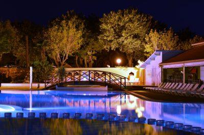 LES GALETS-La piscine du camping LES GALETS-ARGELES SUR MER