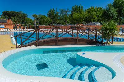 LES GALETS-Le parc aquatique du camping LES GALETS-ARGELES SUR MER