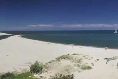 LE BRASILIA-Accès direct à la plage pour le camping LE BRASILIA-CANET EN ROUSSILLON