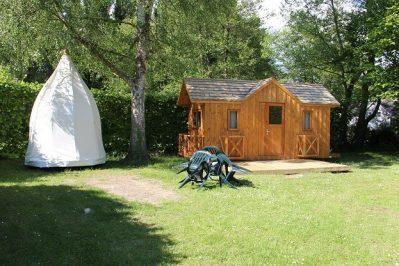 ILE DE BOULANCOURT-Les hébergements insolites du camping ILE DE BOULANCOURT-BOULANCOURT