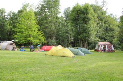 ILE DE BOULANCOURT-Les emplacements du camping ILE DE BOULANCOURT-BOULANCOURT