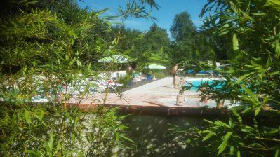 LA RIGOLE-La piscine du camping LA RIGOLE-CAMMAZES