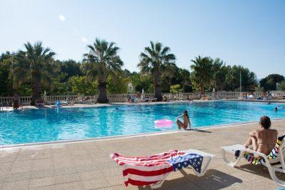 L'ARTAUDOIS-La piscine du camping L'ARTAUDOIS-PRADET