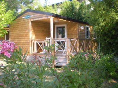 LOU PANTAI-Les chalets du camping LOU PANTAI-PRADET