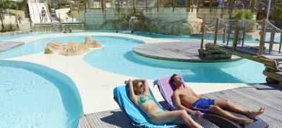 LES TOURNELS-Le parc aquatique du camping LES TOURNELS-RAMATUELLE