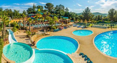 ESTEREL CARAVANING-La piscine du camping ESTEREL CARAVANING-SAINT RAPHAEL