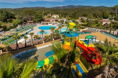 ESTEREL CARAVANING-Le parc aquatique du camping ESTEREL CARAVANING-SAINT RAPHAEL