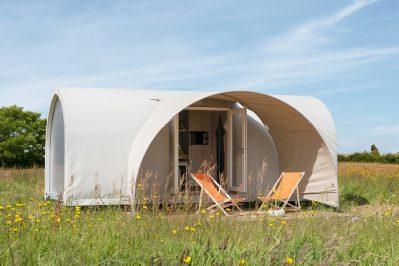 LA ROCHE POSAY VACANCES-Les hébergements insolites du camping LA ROCHE POSAY VACANCES-ROCHE POSAY