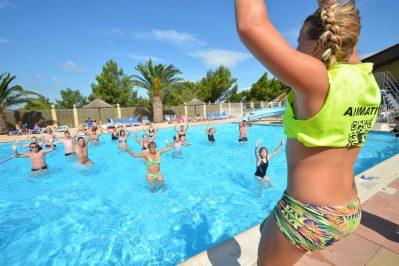 LA NAUTIQUE-Jeux aquatiques au camping LA NAUTIQUE, das Departement Aude-NARBONNE