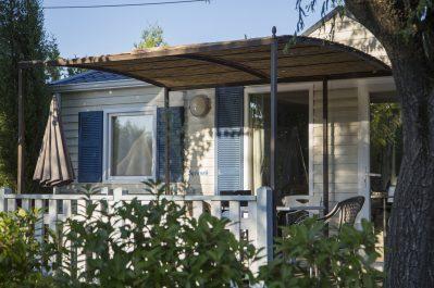 LE MONPLAISIR-Les mobil-homes du camping LE MONPLAISIR-SAINT REMY DE PROVENCE