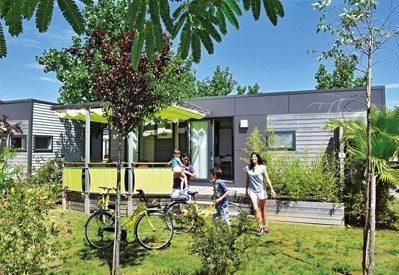 LES MIMOSAS-Hébergements haut de gamme du camping LES MIMOSAS-PORTIRAGNES