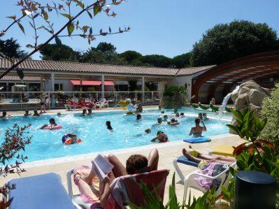 LA GRAINETIERE-La piscine du camping LA GRAINETIERE-FLOTTE