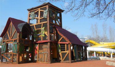LOISIRS LA REGNIERE-Espace jeux pour les enfants-VILLETTE D ANTHON