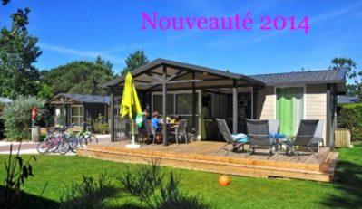 CAMPING CLUB VEREBLEU-Hébergements haut de gamme du camping CAMPING CLUB VEREBLEU-SAINT GEORGES D'OLERON
