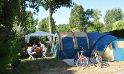 CAMPING CLUB VEREBLEU-Les emplacements du camping CAMPING CLUB VEREBLEU-SAINT GEORGES D'OLERON