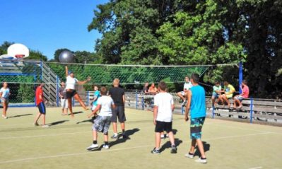 CAMPING CLUB VEREBLEU-Le terrain multi-sports-SAINT GEORGES D'OLERON