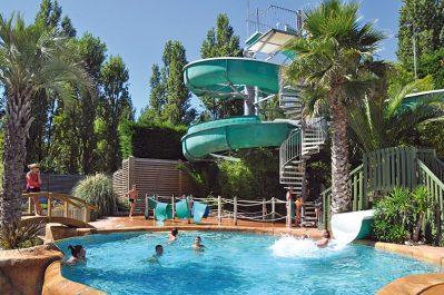 CAMPING CLUB VEREBLEU-Le parc aquatique du camping CAMPING CLUB VEREBLEU-SAINT GEORGES D'OLERON