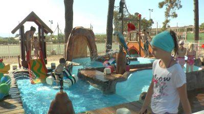 MARINA D'ALERIA-Jeux aquatiques au camping MARINA D'ALERIA, la Haute Corse-ALERIA