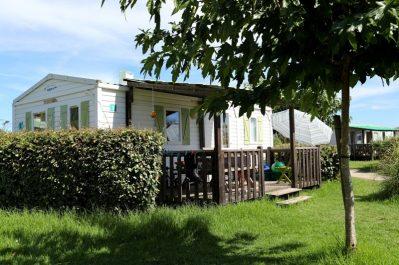 MARINA D'ALERIA-Les mobil-homes du camping MARINA D'ALERIA-ALERIA