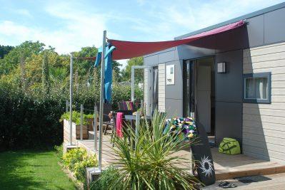 LES EMBRUNS-Hébergements haut de gamme du camping LES EMBRUNS-CLOHARS CARNOET