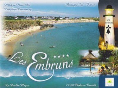 LES EMBRUNS-Le camping LES EMBRUNS, das Departement Finistère-CLOHARS CARNOET