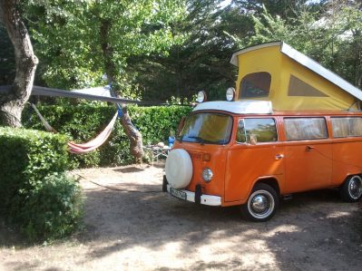 LA FORET-Les emplacements du camping LA FORET-SAINT JEAN DE MONTS