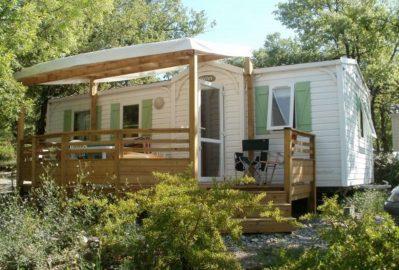 L'EPI BLEU-Les mobil-homes du camping L'EPI BLEU-BANON