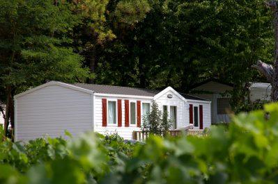 LE PRESSOIR-Les mobil-homes du camping LE PRESSOIR-PETIT PALAIS ET CORNEMPS