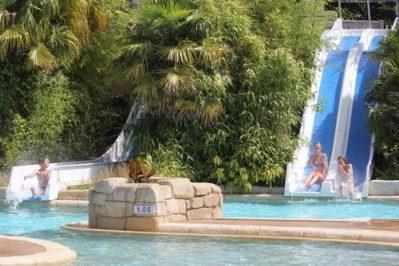 DOMAINE DE LA VILLE HUCHET-Jeux aquatiques au camping DOMAINE DE LA VILLE HUCHET, l'Ille-et-Vilaine-SAINT MALO