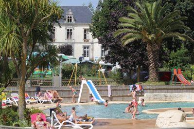 DOMAINE DE LA VILLE HUCHET-Le parc aquatique du camping DOMAINE DE LA VILLE HUCHET-SAINT MALO