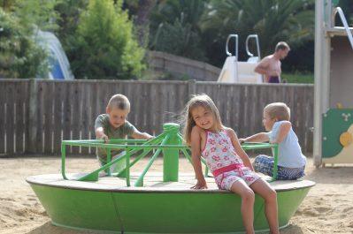 DOMAINE DE LA VILLE HUCHET-Espace jeux pour les enfants-SAINT MALO