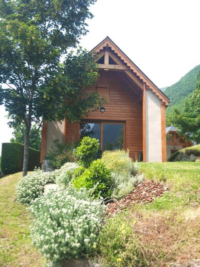 AIROTEL PYRENEES - Les chalets du camping AIROTEL PYRENEES - ESQUIEZE SERE