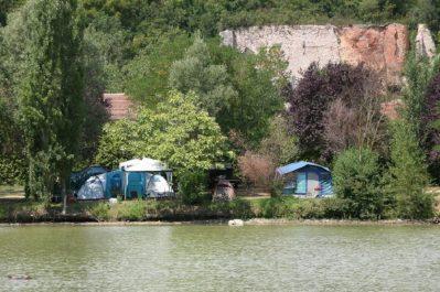 LE PLAN D'EAU ST CHARLES-Un camping en bord d'étang das Departement Tarn-DAMIATTE