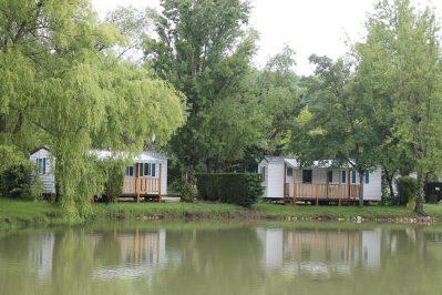 LE PLAN D'EAU ST CHARLES-Les mobil-homes du camping LE PLAN D'EAU ST CHARLES-DAMIATTE