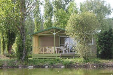 LE PLAN D'EAU ST CHARLES-Les chalets du camping LE PLAN D'EAU ST CHARLES-DAMIATTE