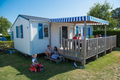 L'OCEAN-Les mobil-homes du camping L'OCEAN-BREM SUR MER