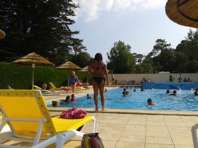 LA DAVIERE PLAGE-La piscine du camping LA DAVIERE PLAGE-SAINT JEAN DE MONTS