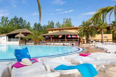BLUE BAYOU-La piscine du camping BLUE BAYOU-VALRAS PLAGE