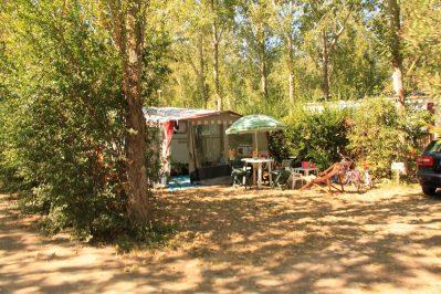 LE PALAIS DE LA MER-Les emplacements du camping LE PALAIS DE LA MER-SAINTE MARIE