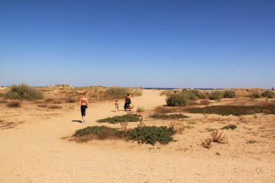 LE PALAIS DE LA MER-Accès direct à la plage pour le camping LE PALAIS DE LA MER-SAINTE MARIE
